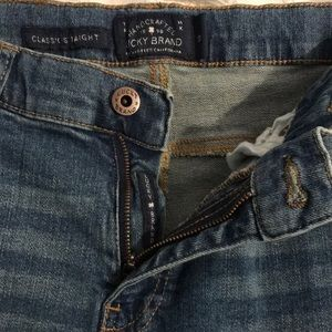 Lucky Brand Jeans - LUCKY BRAND men's classic straight jeans w/adjusts